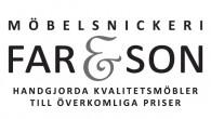 Ny logotyp på Möbelsnickeriet Far och Son